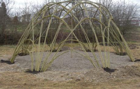 Weidenpavillion Weidensepp
